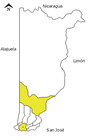 Heredia (canton) - Heredia canton in Heredia province