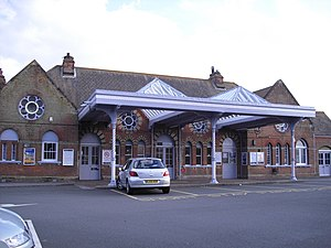 Herne Bay railway station - Image: Herne Bay station building