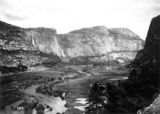 O'Shaughnessy Dam (California) - Hetch Hetchy Valley before the damming, c. 1908