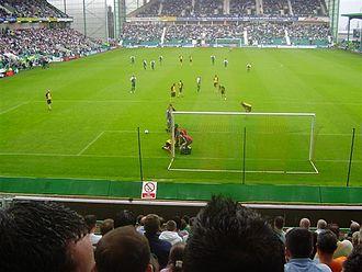 Dinaburg FC - Hibernian v Dinaburg