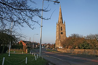 Great Gonerby - Image: High Street, Great Gonerby geograph.org.uk 113632