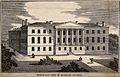 Highbury College, London; north-east view. Wood engraving. Wellcome V0014793.jpg