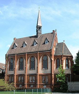 Serbian Orthodox Eparchy of Frankfurt and all of Germany - The diocesan Cathedral of the Dormition of the Theotokos in Himmelsthür, Hildesheim