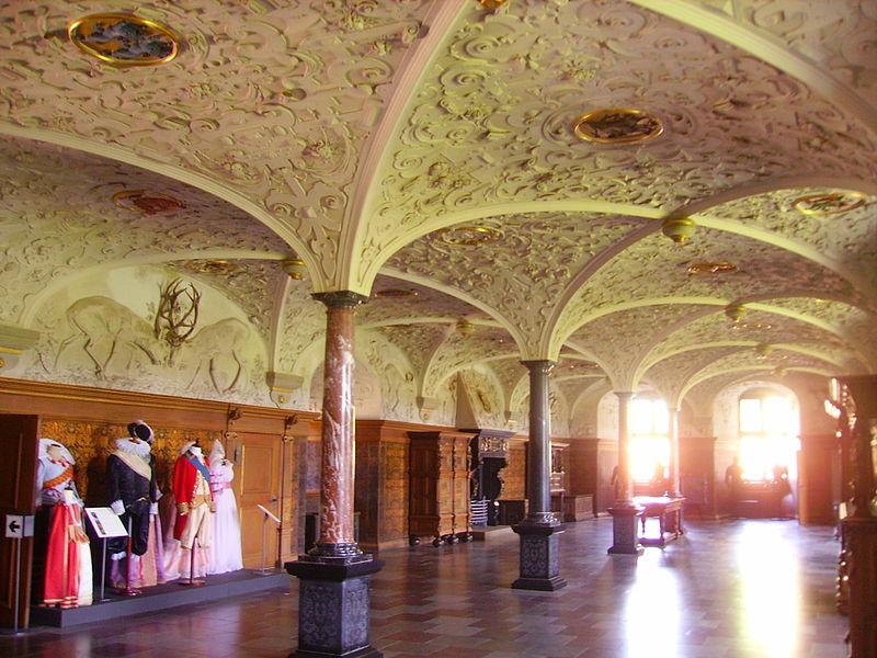 Hilleröd Schloss Frederiksborg Innen Rose.JPG