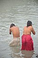 Hindu Devotees Taking Holy Dip In Ganga - Makar Sankranti Observance - Kolkata 2018-01-14 6620.JPG
