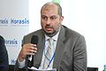 His Royal Highness Prince Abdullah, Saudi Arabia, sharing his views on the global economic outlook, at the Horasis Global India Business Meeting 2009 - Flickr - Horasis.jpg