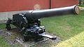 Historic gun of the Disa or the Rota gunboat in Berga navy base, Sweden.jpg