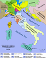 Historical map of Italy before reunification in 1494.png