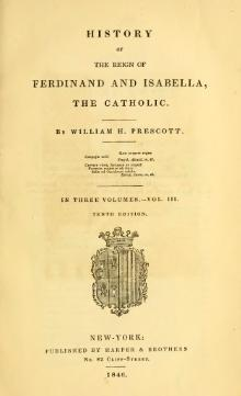 History of the Reign of Ferdinand and Isabella the Catholic Vol. III.djvu