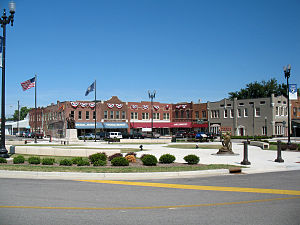Hodgenville, Kentucky - Town Square
