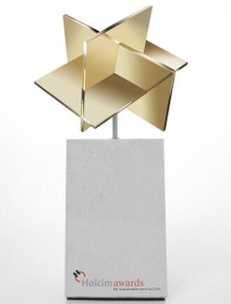 LafargeHolcim Awards for Sustainable Construction - Image: Holcim Gold weiss 220 290