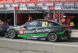 David Wall (racing driver) - The Holden VE Commodore of David Wall at the 2012 Clipsal 500 Adelaide
