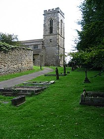 Holy Cross Church, Burley on the Hill - geograph.org.uk - 1596761.jpg