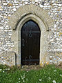 Holy Trinity Church Nuffield, Oxon, England - chancel south door.jpg