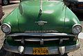 Hood of a Plymouth classic car (Havana, Jan 2014).jpg