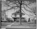 Horatius and Ethyl Clinger House, 202 West Liberty Street, Springfield, Clark County, OH HABS OHIO,12-SPRIF,9-2.tif