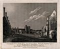 Hospital of St. Cross, Winchester, Hampshire. Etching by S. Wellcome V0014606.jpg