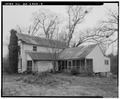 House, facing southwest. - Landers-Cain House, 915 Pleasant Hill Road, Lawrenceville, Gwinnett County, GA HABS GA,68-LAWVI,2-3.tif