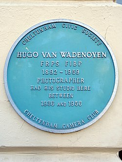 Hugo van wadenoyen frps fibp 1892 1959 (cheltenham)