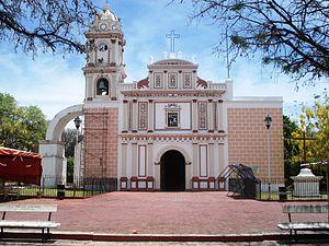 Huitzuco - Image: Huitzuco de los Figueroa Catedral