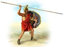 Reino de Macedonia 250px-Hypaspist