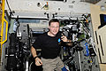 ISS-24 Doug Wheelock uses ham radio system 1.jpg
