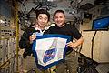 ISS-45 Kimiya Yui and Kjell Lindgren in the Zvezda Service Module.jpg