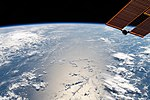 ISS-59 South Pacific Ocean cloud formations.jpg