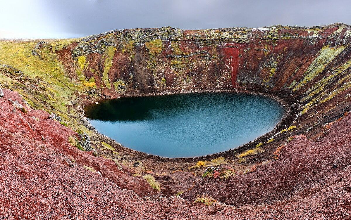 Resultado de imagen para turismo en islandia kerid crater lake