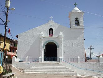 Taboga Island - San Pedro church with the claim as the second oldest church in the Western Hemisphere
