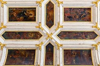 Igreja de Nossa Senhora da Penha ceiling