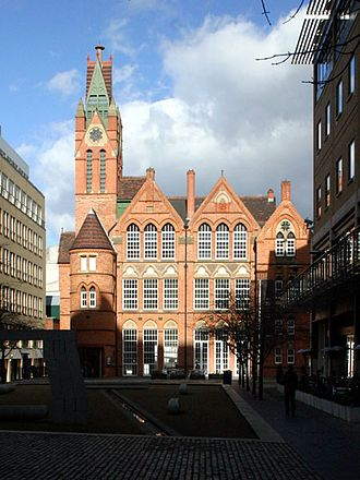 Brindleyplace - The Ikon Gallery.