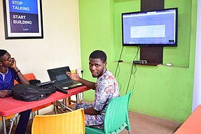 Ilorin Wikimedia Hub Workshop, March 2018-22.jpg