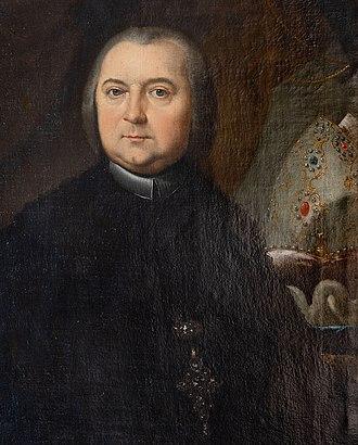 Heinrich von Bibra - Painting of Heinrich von Bibra by his court painter, Johann Andreas Herrlein