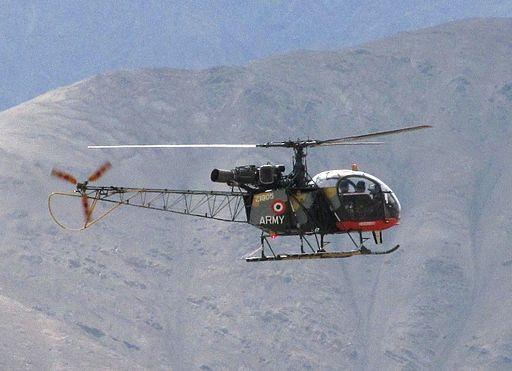 Indian Army's HAL Cheetah at Leh (2) cropped