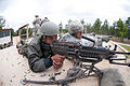 Indian Army RFN Anil Pawe and Spc. Henry Vaillancourt partner up to fire an M249 Squad Automatic Weapon.jpg
