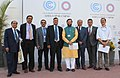 Indian delegation led by the Minister of State for Environment, Forest and Climate Change (Independent Charge), Shri Prakash Javadekar at the venue of UNFCCC, CoP 20, in Lima, Peru on December 10, 2014.jpg