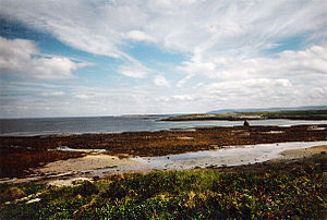 Liam O'Flaherty - East beach of Inishmore, O'Flaherty's birthplace