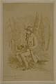 """Ink Drawing """"General Early after Fisher's Hill"""" by A.W. Kercheval.jpg"""