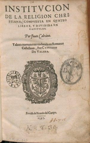 Institutio christianae religionis, 1597