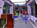 Intérieur Train Francilien Gare Haussmann St Lazare Paris 1.jpg