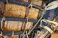 Interior roof construction detail, Hida Folk Village, May 2017.jpg