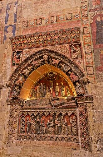 Old Cathedral of Salamanca - Image: Interiores de la Catedral Vieja de Salamanca 2