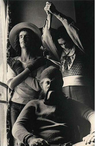 Invisible (band) - Invisible in 1974, photograph by Eduardo Martí.