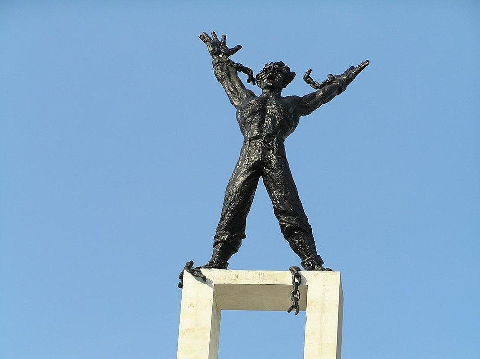 Irian Barat Statue