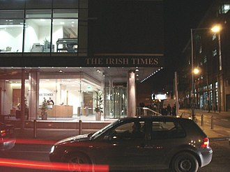 The Irish Times - The Irish Times building, on Tara Street