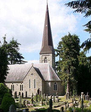 Enniskerry - Saint Patrick's church