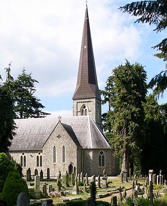 Enniskerry - Saint Patrick's church
