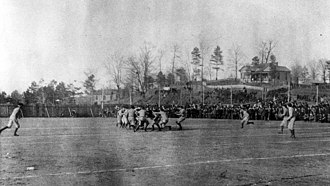 Iron Bowl - Scene of the first Iron Bowl ever, Feb 22, 1893