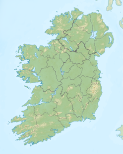Galtymore (and Galty Mountains) is located in island of Ireland